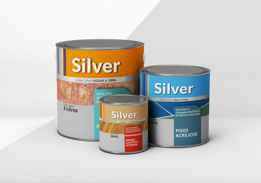 Etiquetas Silver Mockup4